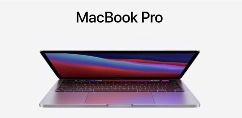 New 13-inch MacBook Pro with new Apple Silicon is jaw dropping