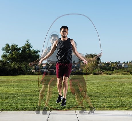A Jump Rope Workout To Improve Strength And Food Speed