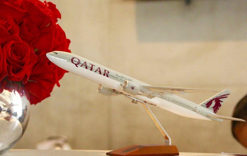 A Qatar Airways Review: Q-Suites!