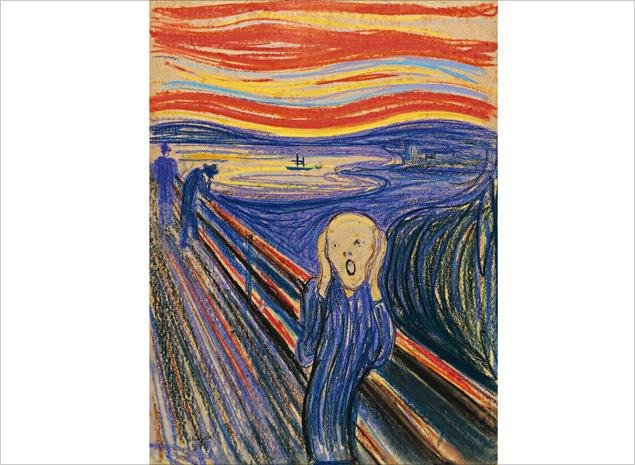 Edvard Munch 'The Scream' - The Story Behind the Famous Art Piece