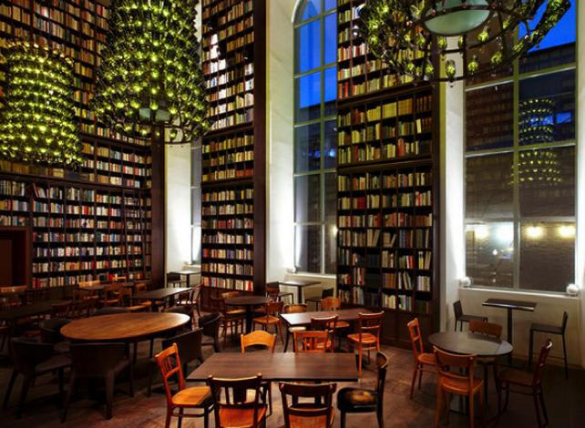 Swanky Library Hotel, Zurich, Switzerland