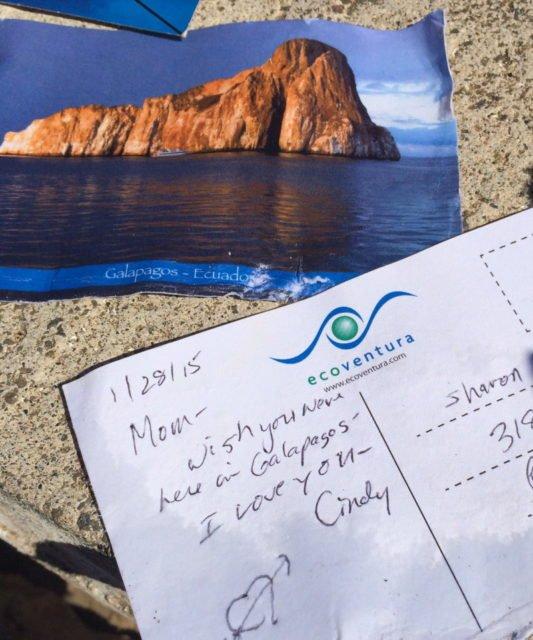 Post Office Bay, Floreana, Galapagos