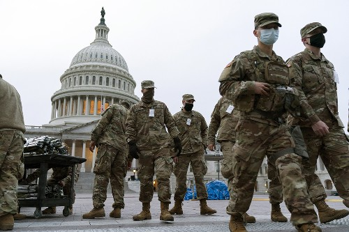 Impeachment trial to keep National Guard troops at Capitol