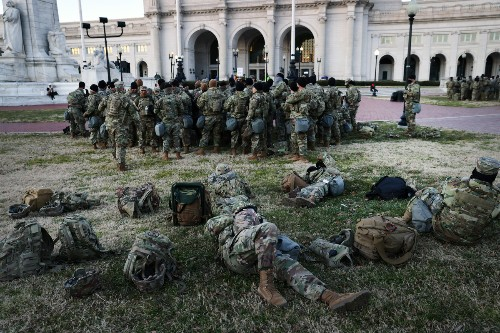 Several governors order National Guard troops out of D.C.