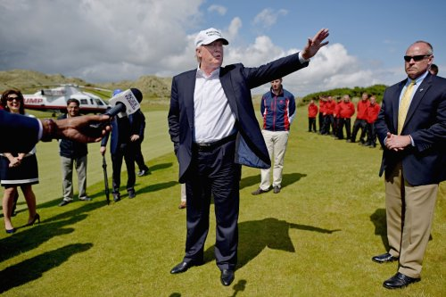 Trump's Scottish and Irish golf resorts spur a new round of scrutiny on his businesses