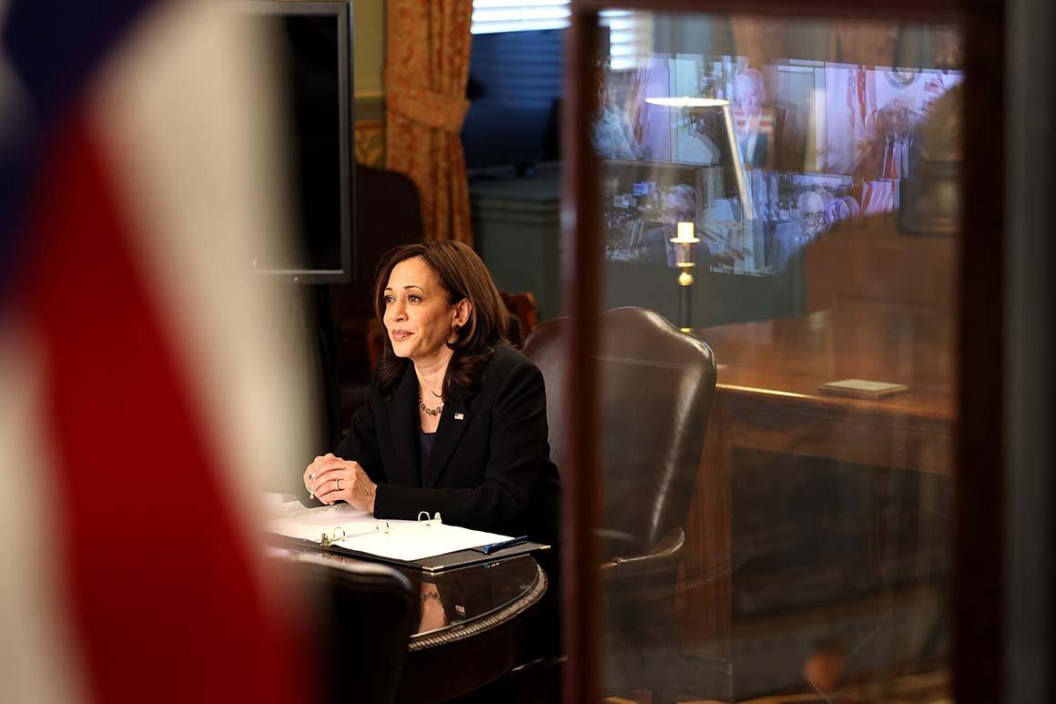 Biden taps Harris to tackle voting rights legislation