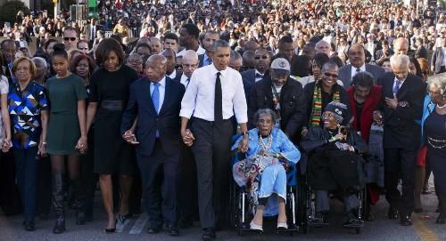 Selma highlights hypocrisy on voting rights, Democrats say