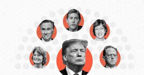 Here's how senators voted on Trump's second impeachment