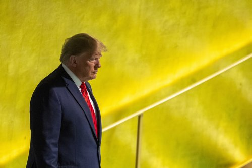 Trump was supposed to be a political Godzilla in exile. Instead, he's adrift.