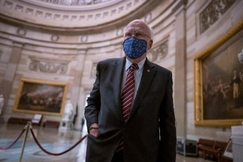 Leahy's hospitalization shows Dems' majority hangs by thread