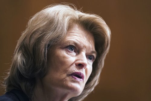 GOP pushes Murkowski to stay in line against Biden's Covid bill