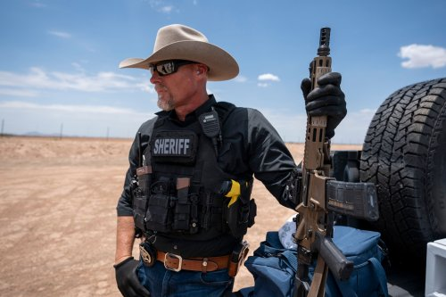 He Calls Himself the 'American Sheriff.' Whose Law Is He Following?