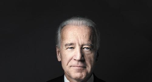 Joe Biden in Winter