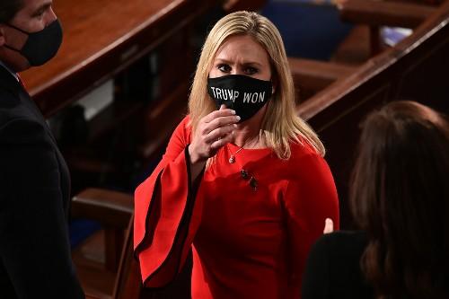 GOP freshman lawmakers splinter over Trump