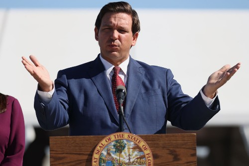 DeSantis travels to Texas to air conservative grievances