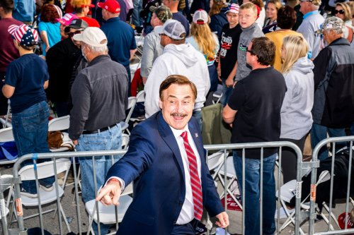 Why Mike Lindell Can't Stop