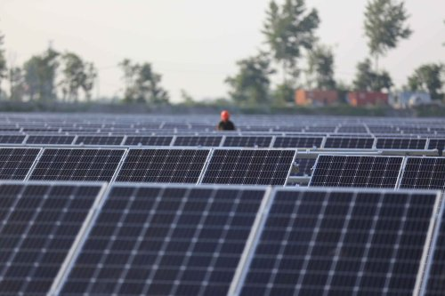 Biden weighs ban on China's solar material over forced labor