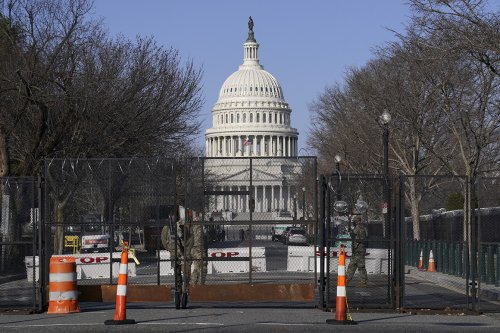 Security review recommends enhanced background checks, retractable fencing to secure Capitol