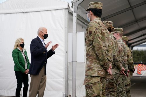 Pentagon won't require vaccine for troop deployments, but other details unclear