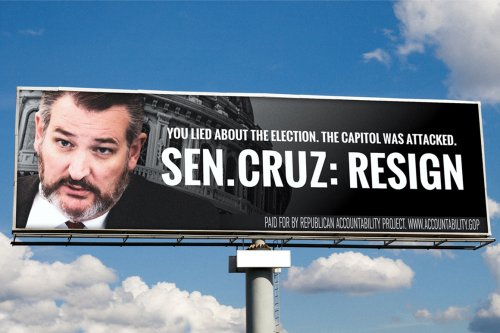 Anti-Trump group launches $1M billboard campaign calling on Cruz, Hawley, McCarthy to resign