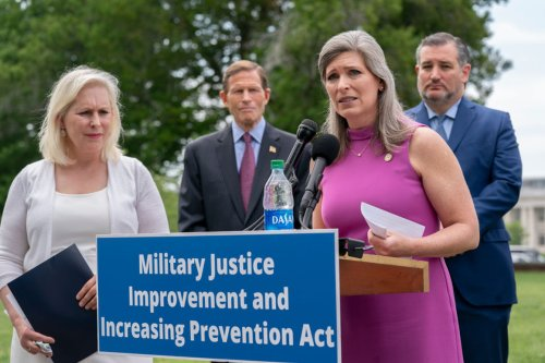 Senators tout bipartisan effort to combat sexual assault in military