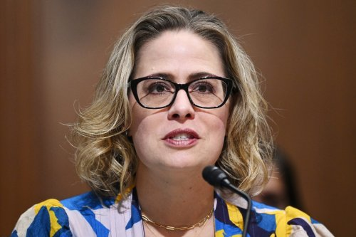 What's Kyrsten Sinema Up To? It's Pretty Obvious.