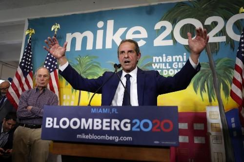 Bloomberg backs former Miami mayor Diaz to lead Florida Democrats