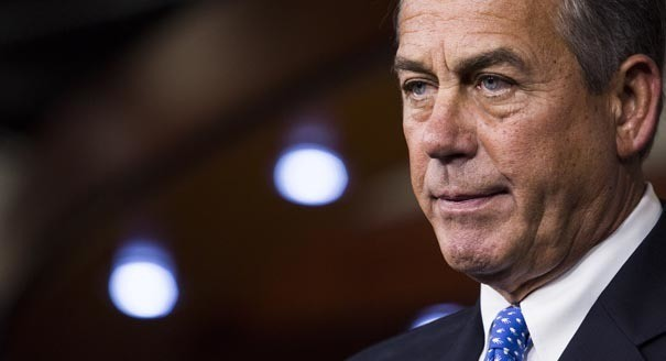Boehner: Immigration could be in suit