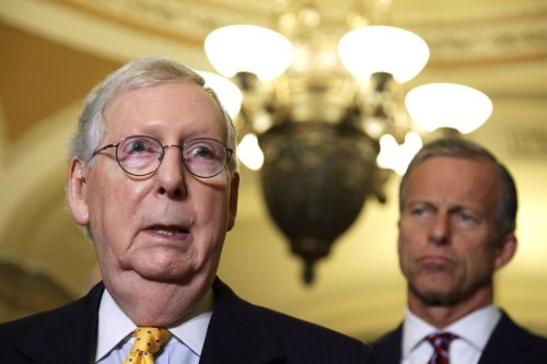 McConnell stirs GOP intrigue with support for Biden's infrastructure bill
