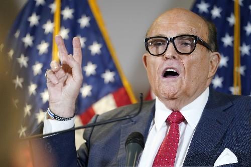 Treasury Department announces sanctions tied to Giuliani's Biden attacks