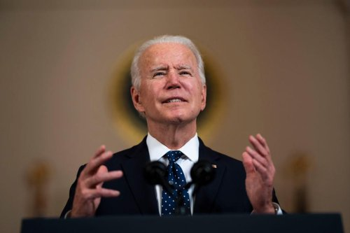 Biden unveils sweeping climate goal — and plans to meet it even if Congress won't