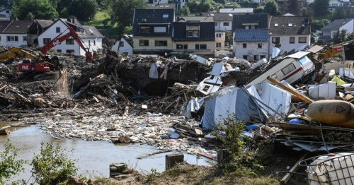 Belgium and Germany deal with 'unimaginable' piles of post-flood trash