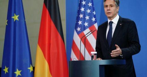 Blinken: US has 'no better friend in the world than Germany'