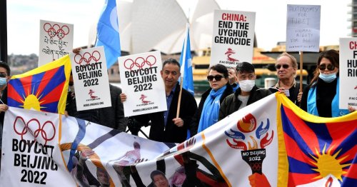 UK should push companies to boycott Beijing Olympics over labor abuses, MPs say