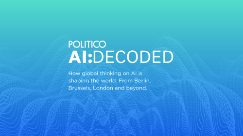 POLITICO AI: Decoded: High-tech borders — US boosts military AI investments — Spanish AI models