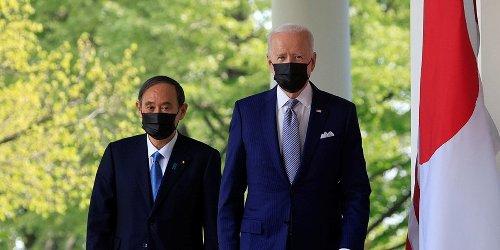 Biden afirma que EUA y Japón enfrentarán juntos 'desafíos que plantea China'