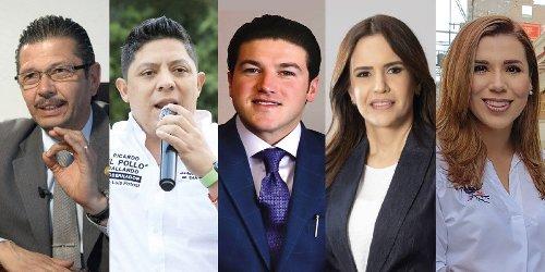 6 candidatos a gubernaturas reforzaron sus equipos de campaña 2021 con nuevos fichajes
