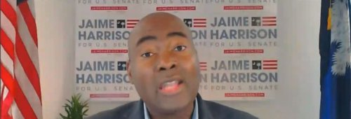 """Jaime Harrison Chides Joe Manchin Over Voter Rights: """"We Can't Leave This to the Whims of Mitch McConnell"""""""