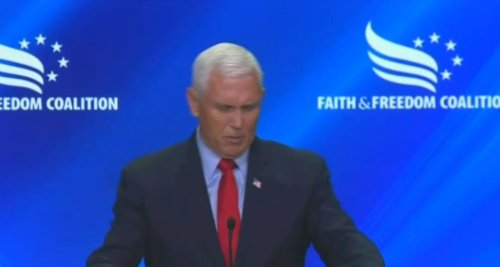 Christian Crowd Attacks Mike Pence And Calls Him A Traitor For Not Overturning The Election