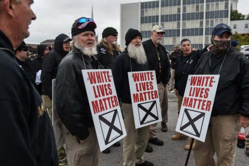 White Lives Matter Movement Infiltrated and Turned Into A Dumpster Fire