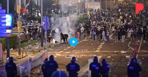 Barcelona letzte Nacht: Party mit 15.000 jungen Menschen geriet außer Kontrolle | Politikstube