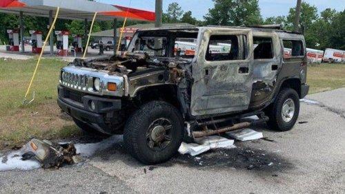 Florida Man Loads Up Hummer With Gas Then Lights A Match