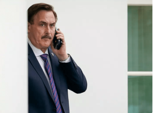 Mike Lindell Paying 'Lots Of $$' To Gumshoes To Find Out Why Fox Isn't Attacking Dominion On Air