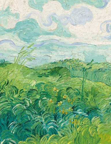 Green Wheat Field (detail), Vincent Van Gogh, 1890 Vincent Of Onofrio, Fields Details, | Modern Art Movements To Inspire Your Design