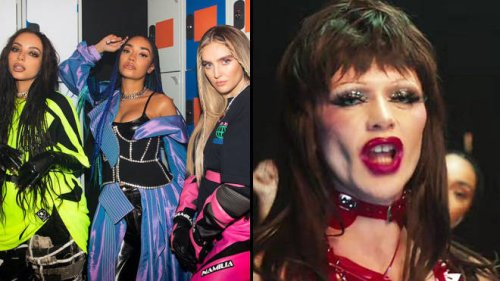 Drag Race UK's Bimini, Tayce and A'Whora star in Little Mix's first video as a trio