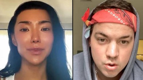 Nikita Dragun hits back at transphobic abuse from YouTuber Taylor Caniff