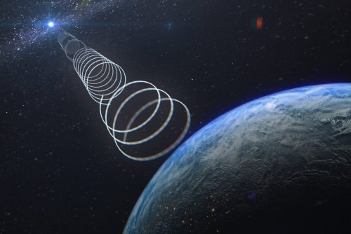 Mysterious radio signals and a blue glow: this week's wildest space stories
