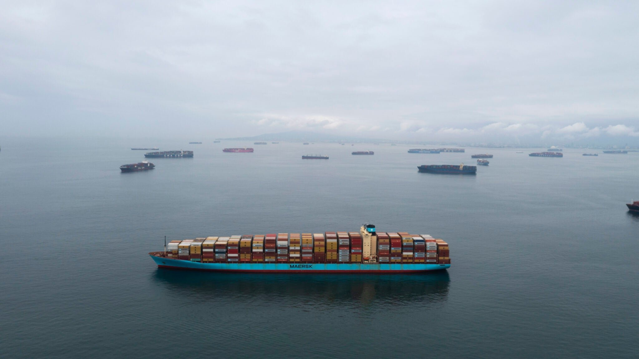 Nearly 100 container ships are suddenly stranded off the coast of California