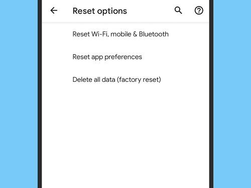 How to reset your devices without losing everything