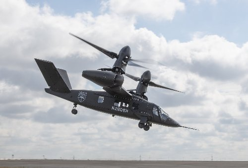 Tilting rotors could help make Bell's speedy new aircraft the next Black Hawk